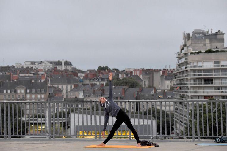 In Nantes, Frankrijk. Beeld AFP