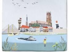 Bommelse stadstegel met knipoog naar Delfts Blauw