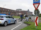 Ook in het Groene Hart is met de fiets naar school gaan riskant