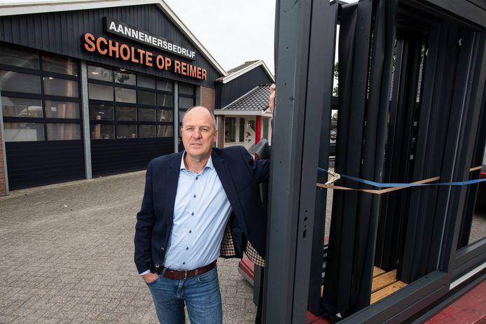 Eigenaar Rob Scholte op Reimer van het inmiddels 100-jarige aannemersbedrijf.