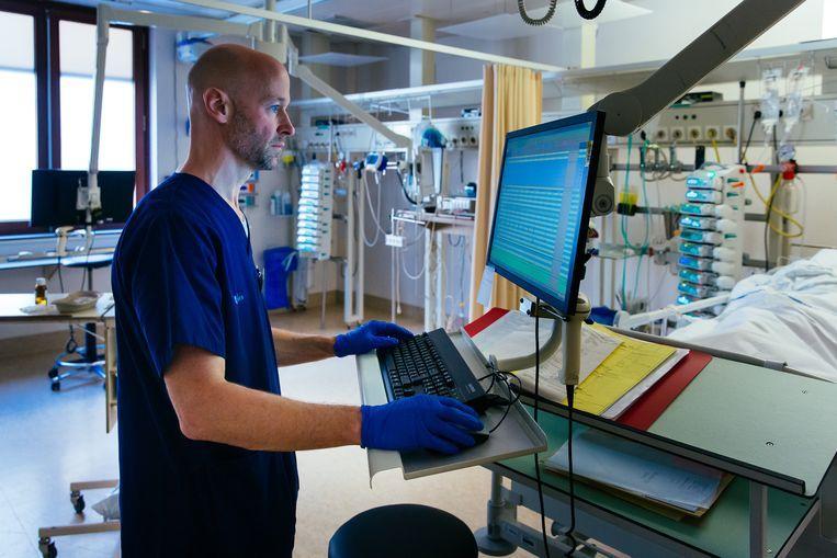IC-arts Geert Meyfroidt. Beeld UZ Leuven