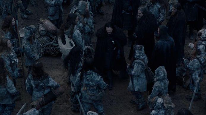 De Noorderlingen begroeten Jon.