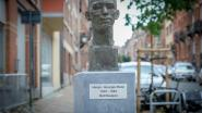 Buste van Hergé versiert het Theuxplein in Etterbeek
