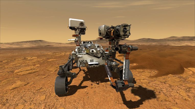 Marsrobot 'Perseverance'.