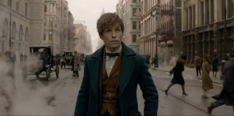 Screenshot uit 'Fantastic Beasts and Where to Find Them'.  Beeld kos