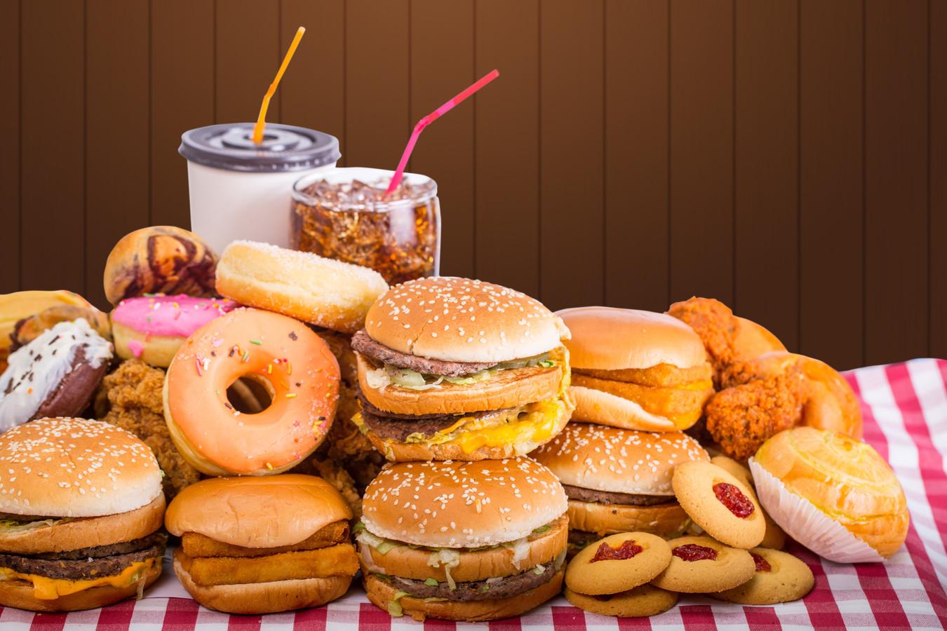 Fast food laten staan: veel mensen willen zich fitter voelen in het nieuwe jaar.