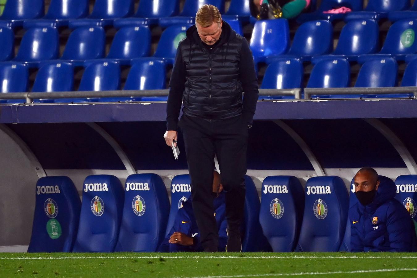 Première défaite pour Ronald Koeman en tant qu'entraîneur du Barça.