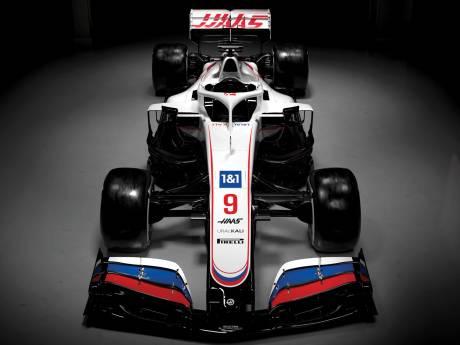Nieuwe F1-auto Haas in Russische kleuren