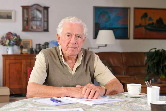 Ernst Verduin doorstond de kampen Vught, Westerbork, Auschwitz, Monowitz en Buchenwald