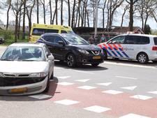 Flinke schade, geen gewonden bij aanrijding op Lunterseweg