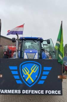 'Denderende stoomwals van boeren' onderweg van de Achterhoek naar Den Haag