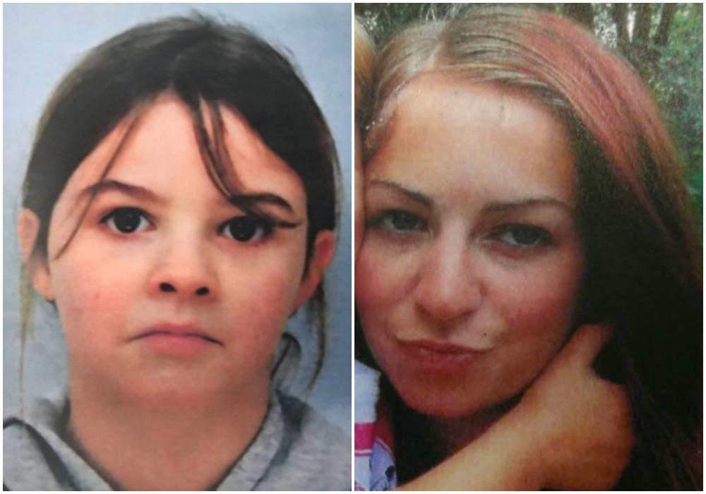 Links: de ontvoerde Mia Montemaggi. Rechts: haar moeder Lola.
