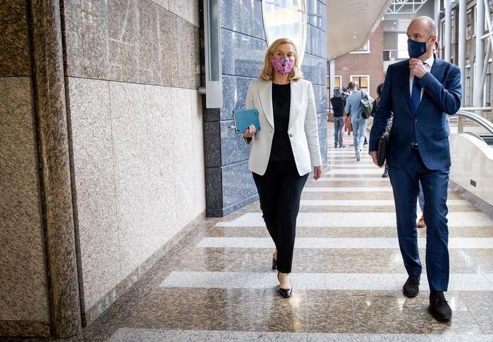 Sigrid Kaag (D66) en Gert-Jan Segers (ChristenUnie).