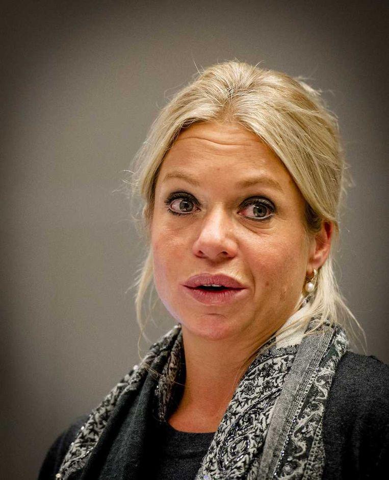 De Minister van Defensie, Jeanine Hennis-Plasschaert. Beeld anp