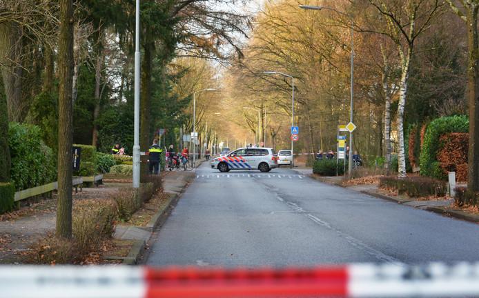Politieagenten onderzochten de ontvoering aan de Oenenburgweg in Nunspeet.