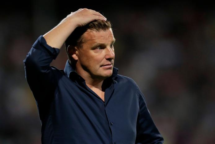 Coach John Stegeman van PEC Zwolle.
