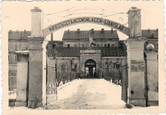 Kamp Stanislau, waar veel Nederlandse militairen gevangen zaten