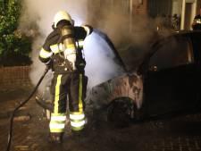 Auto verwoest door brand in Berghem: politie doet buurtonderzoek