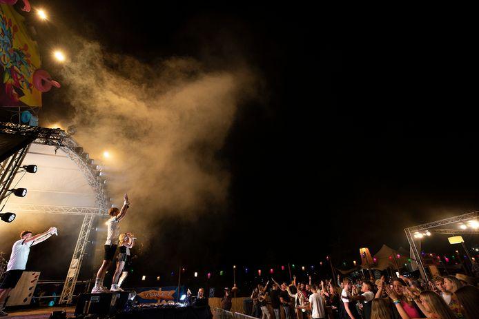 Eindelijk kon er weer met honderden mensen tegelijkertijd feest worden gevierd.