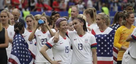 Amerikaanse voetbalsters verliezen in rechtbank claim voor gelijke betaling