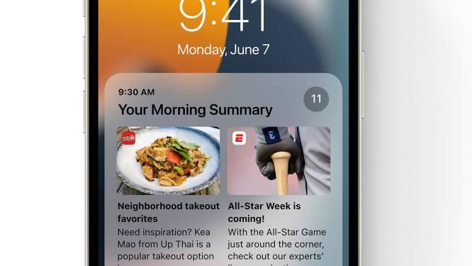 iOS 15 verschijnt volgende week voor je iPhone, maar zo installeer je de grote nieuwe update nu al
