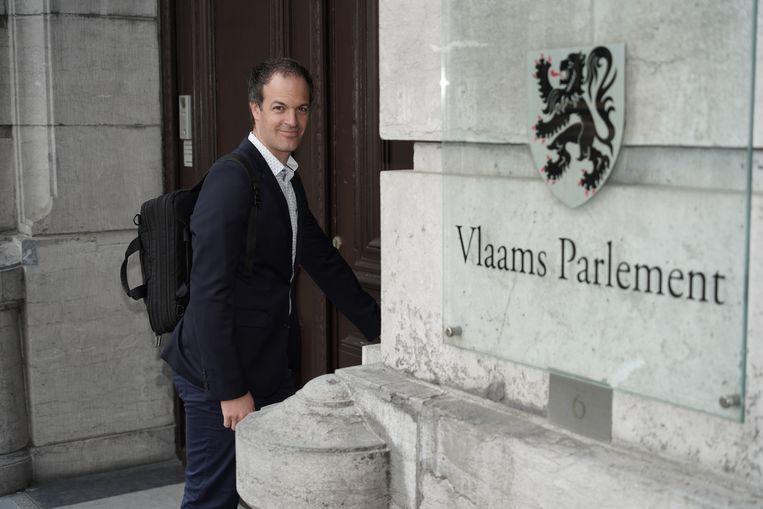 Vlaams parlementslid en energiespecialist Staf Aerts (Groen). Beeld rv