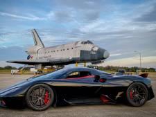 Zo hard kan de snelste auto ter wereld