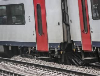 Trein ontspoord aan station Kortrijk