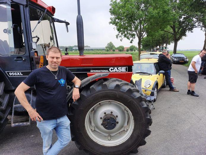 FDF-voorman Mark van den Oever.