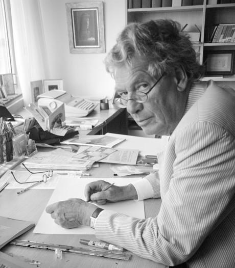 Peter van Straaten tekende Arnhemse herinneringen uit het blote hoofd