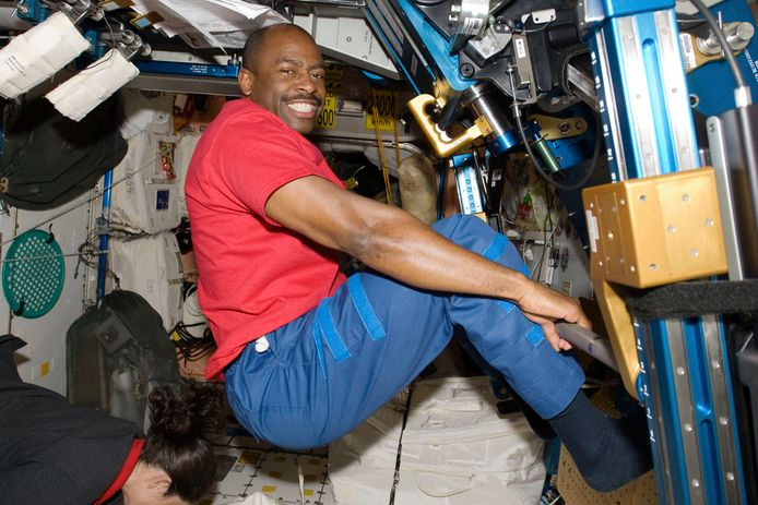 Voormalig NASA-astronaut Leland Melvin.