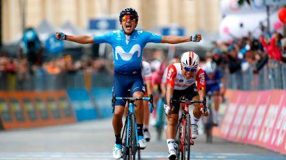 Carapaz houdt Ewan af in Giro, Dumoulin lijkt eindzege nu al te mogen vergeten