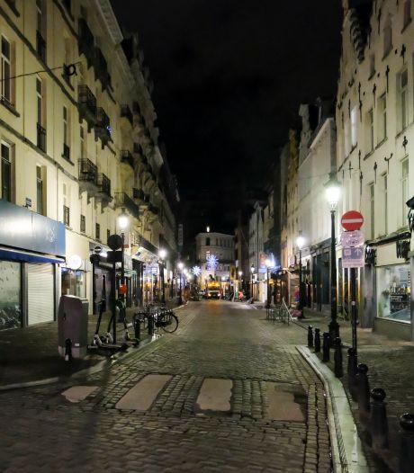Belgenmop? In Brussel moet je om 22 uur naar huis, en twee uur later mag je weer de straat op
