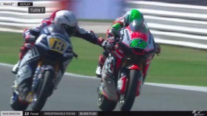 Zware gevolgen voor motorcoureur die rem concurrent dichtkneep: ontslagen bij huidig team en ook zijn nieuwe ploeg wil hem niet meer