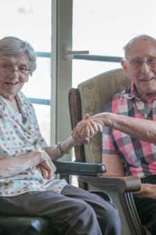 Bas en Leny de Looff 65 jaar getrouwd