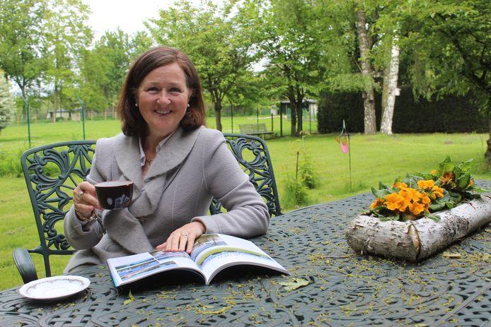Patricia De Waele geniet nu vooral graag thuis, in Doornzele bij Evergem.