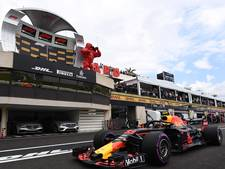 Verstappen start als vierde, Mercedessen op eerste rij