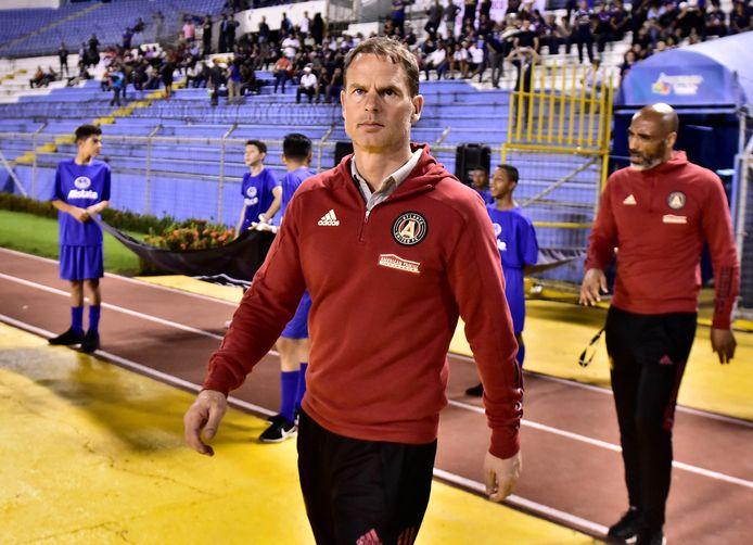 Frank de Boer, trainer bij Atlanta United.