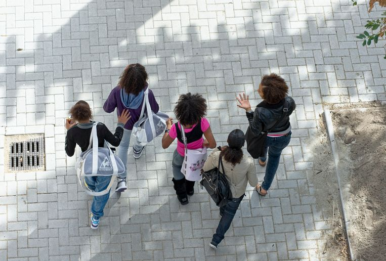Het aandeel anderstalige leerlingen steeg in Vlaams-Brabant het sterkst: van 9,5 procent naar 16,4 procent in het schooljaar 2015-2016.  Beeld David Rozing/Hollandse Hoogte