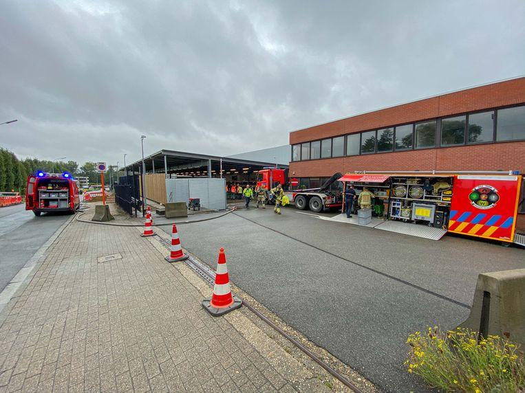 De brandweerzone Vlaams-Brabant West moest de grote middelen laten aanrukken.
