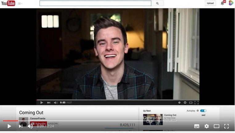 Een beeld uit de video die YouTube zelf maakte en in beperkte modus niet toont. Beeld Het Parool