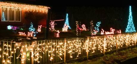 'Gekkenhuis' bij kerststallenroute: 'Even naar buiten, even de lichtjes opzoeken'