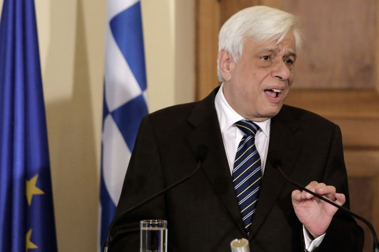 Pavlopoulos. Beeld ap