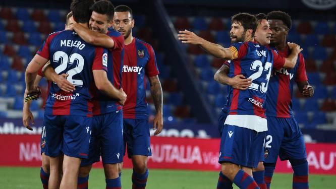 """Stuntploeg Levante na 3-3 tegen Barcelona: """"Logisch dat wij niet zijn uitgenodigd voor de Super League"""""""