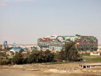 Containerschip dat Suezkanaal blokkeerde in beslag genomen door Egypte