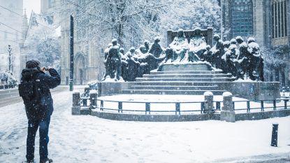 Sneeuw! Idyllische beelden