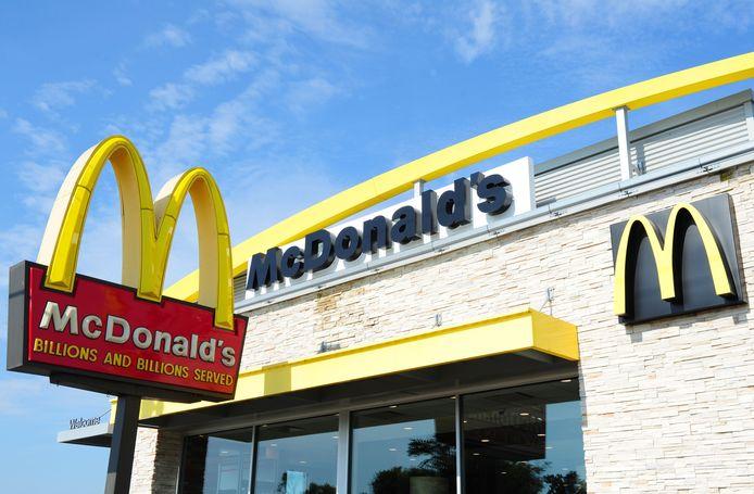 Un restaurant McDonald's aux Etats-Unis.