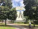 Peerke Verschiet, symbool van kersendorp Uden.