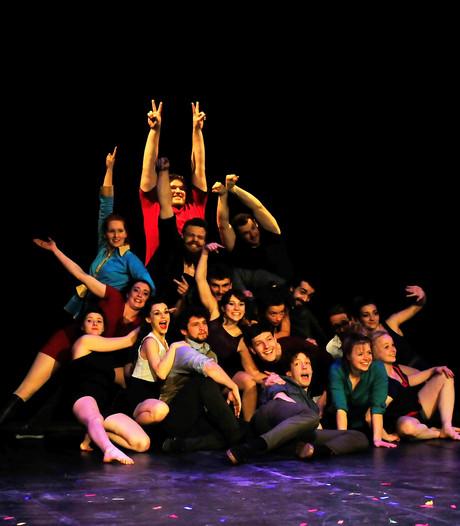 Circus en musical door kunststudenten in Tilburg en Goirle