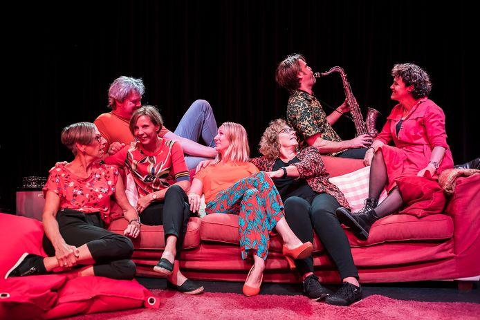 Scene uit De Jossen van theatergroep Zierik.